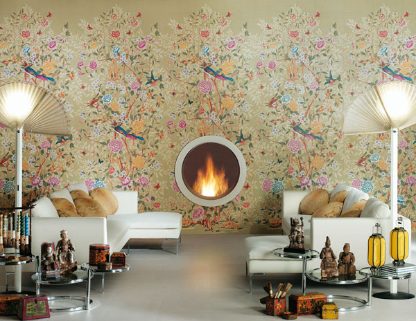 Ceramic Tiles That Look Like Wallpaper From Novoceram - Freshome.com