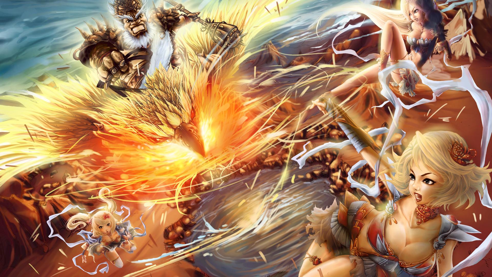 Anime Fight Wallpaper ForWallpapercom 1920x1080