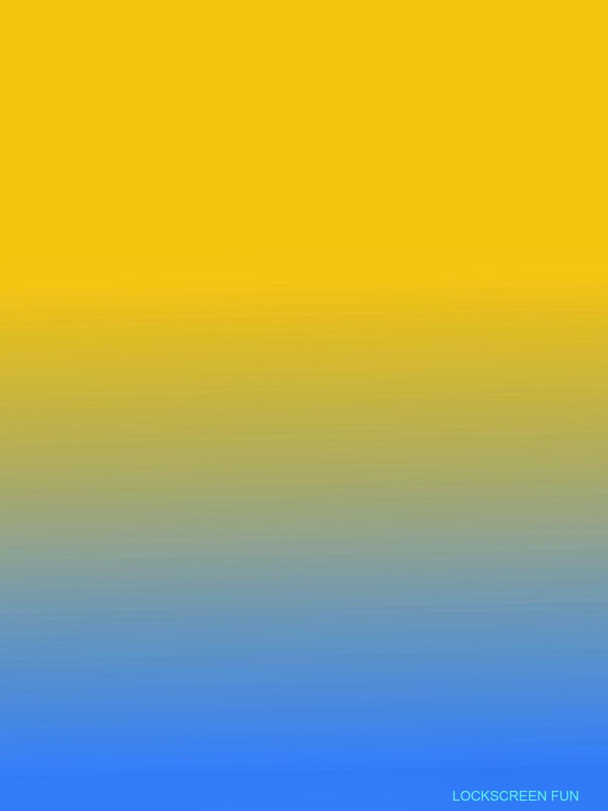 LockscreenFun Yellow to Light Blue Color Fade   iPad Mini 1200x1600