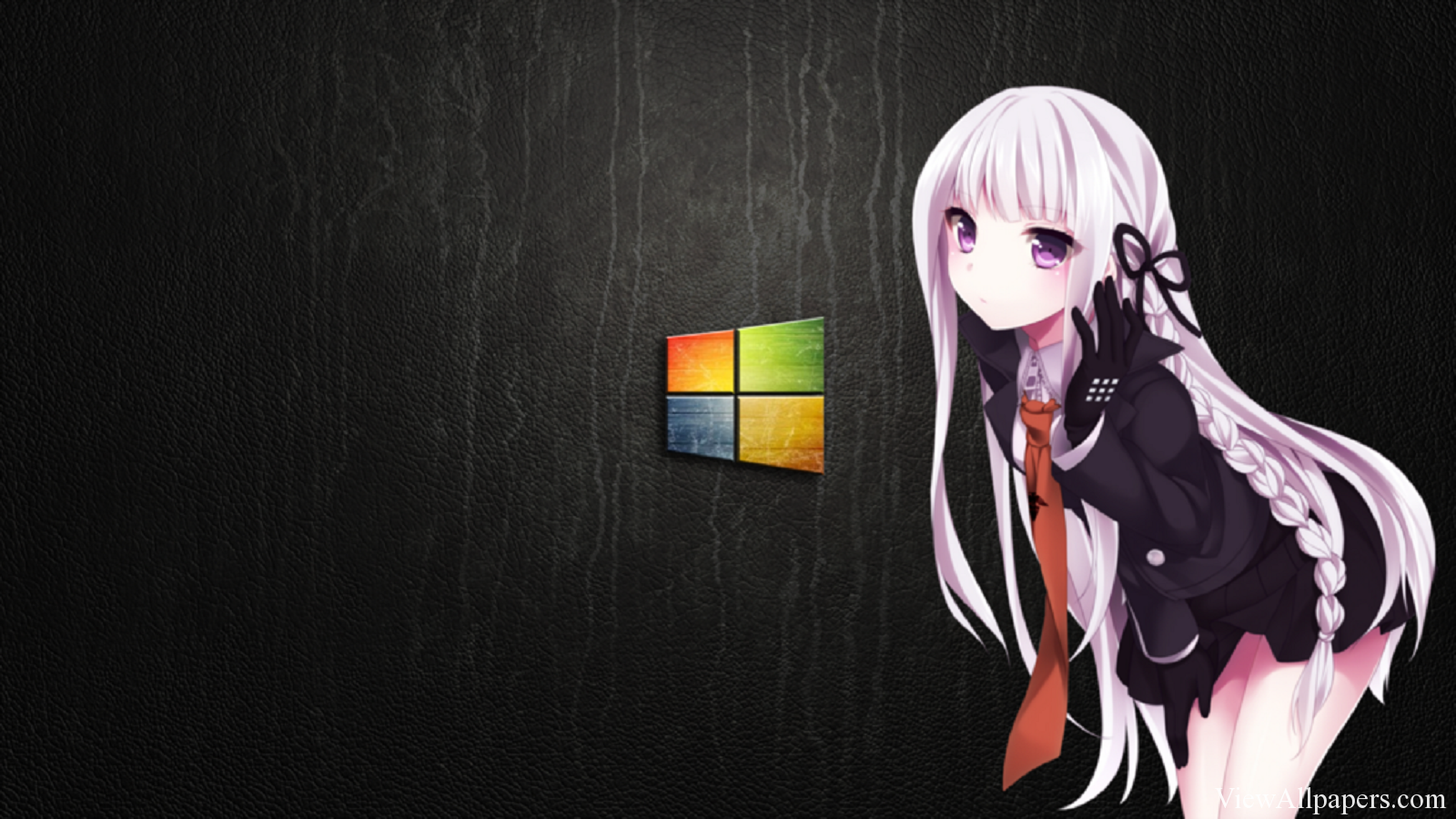 Anime girl wallpaper windows 10 wallpapersafari - Anime wallpaper 1360x768 hd ...