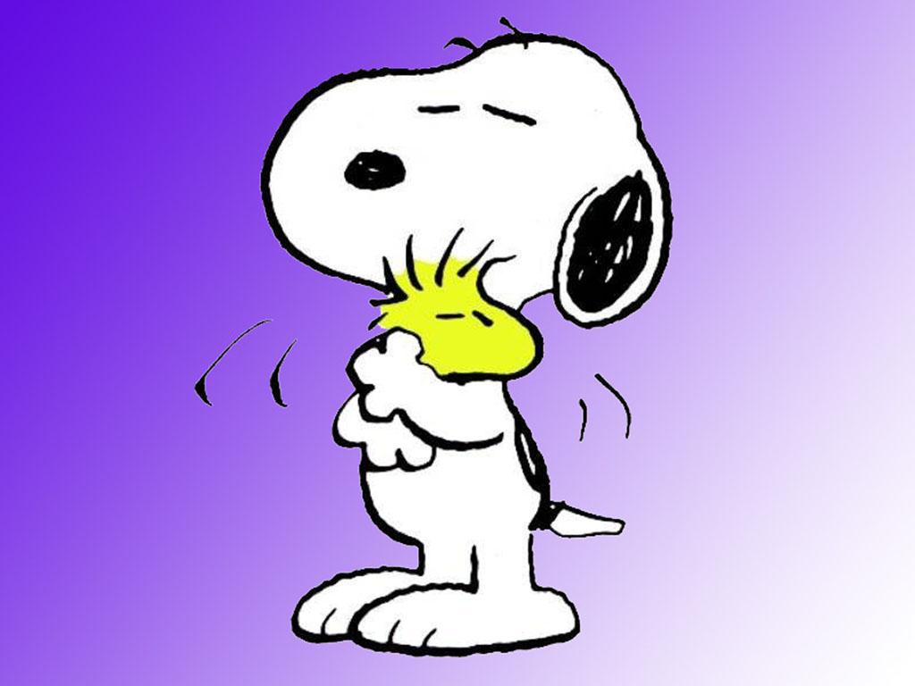 Wallpaper Snoopy Abrazando A Emilio 1024x768