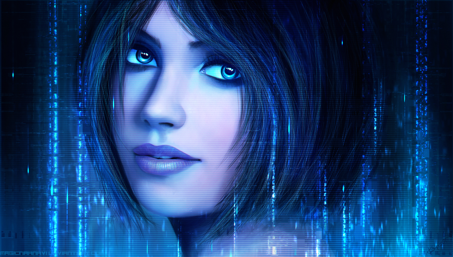 Cortana wallpaper nudes download