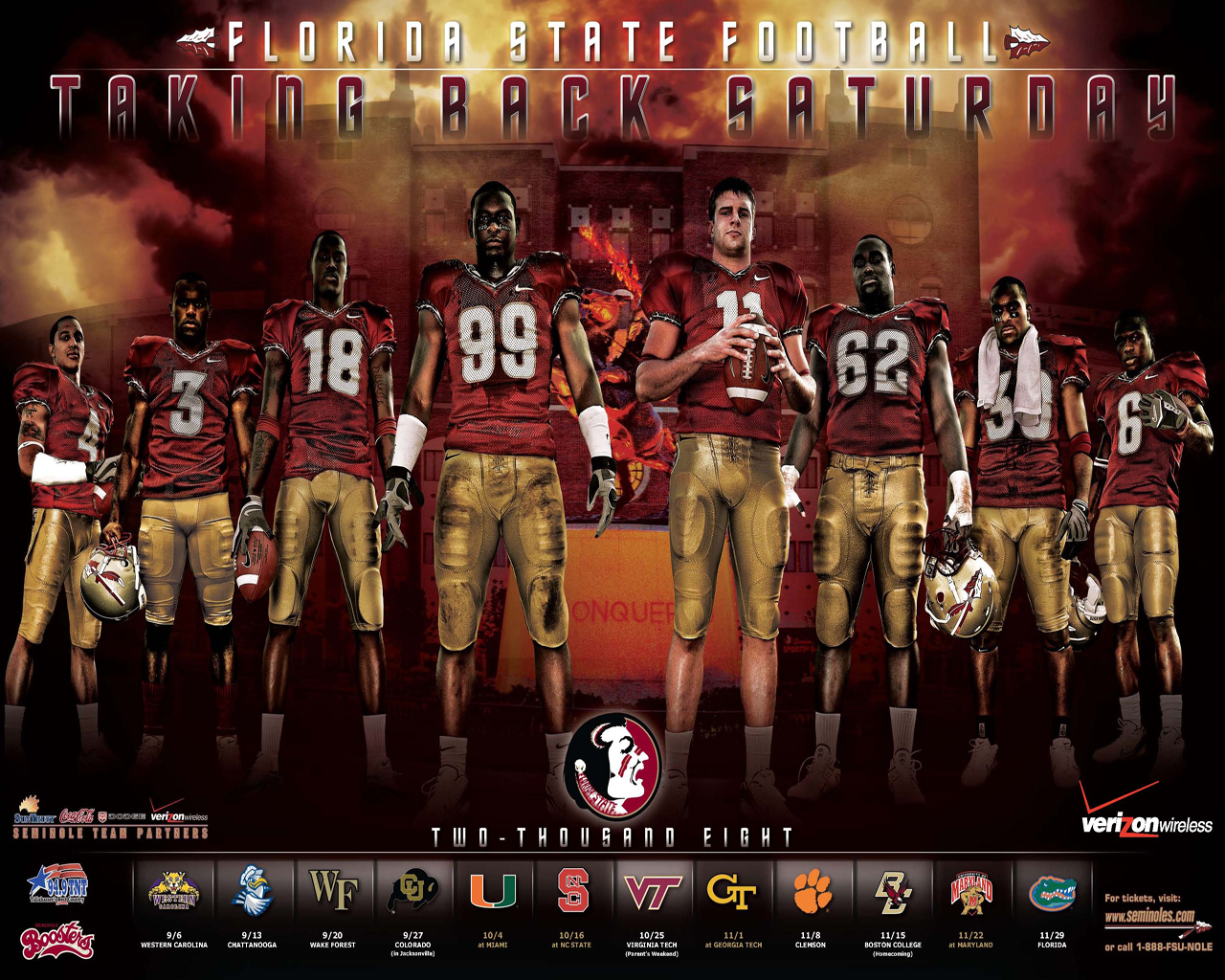 Florida State University Football Florida state university football 1280x1024