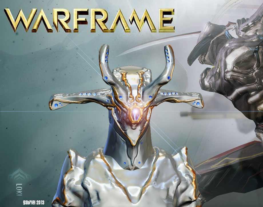 Warframe Loki Prime by gaber111 920x725