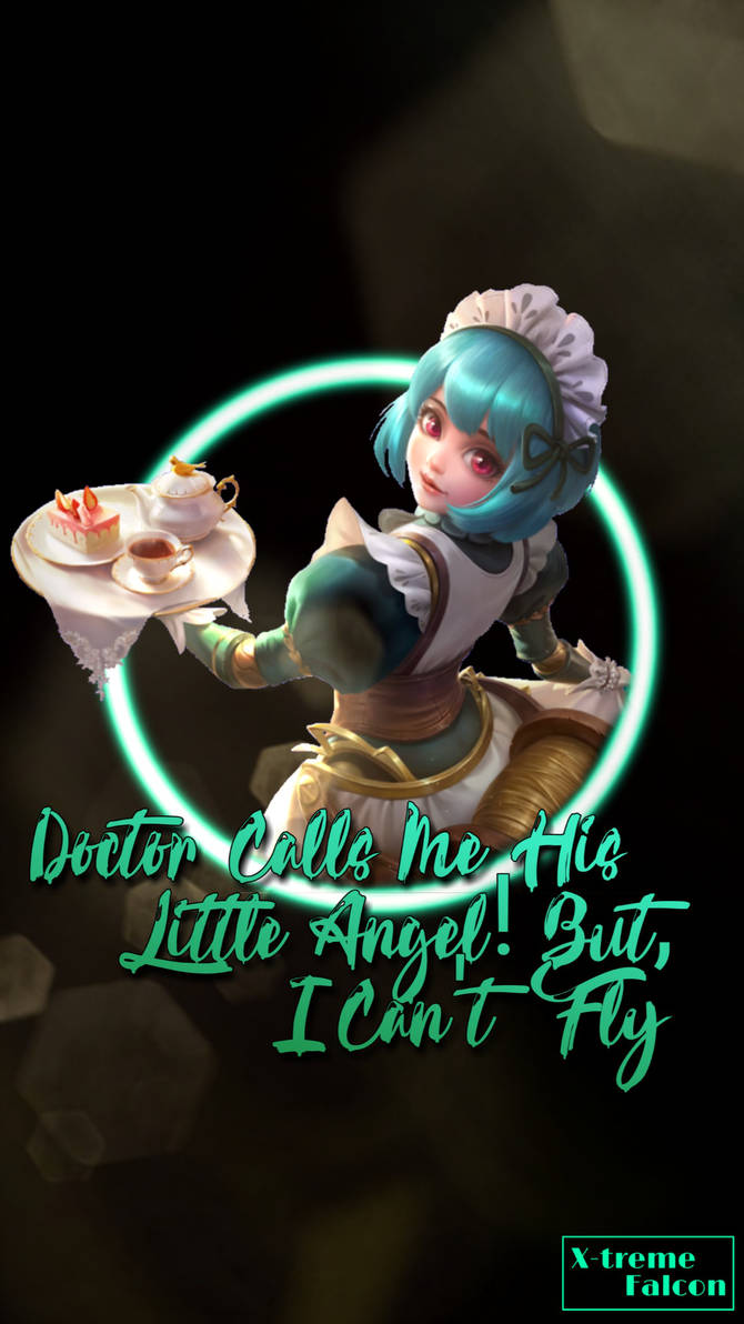 Angela Dove of love Custom Wallpaper Mobile legend by Perfecto99 670x1192