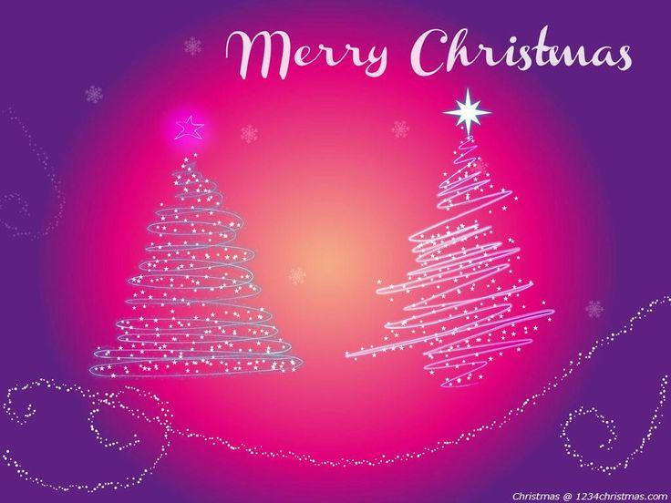 Pink Christmas Tree Wallpaper Download Christmas Tree Wallpapers 736x552