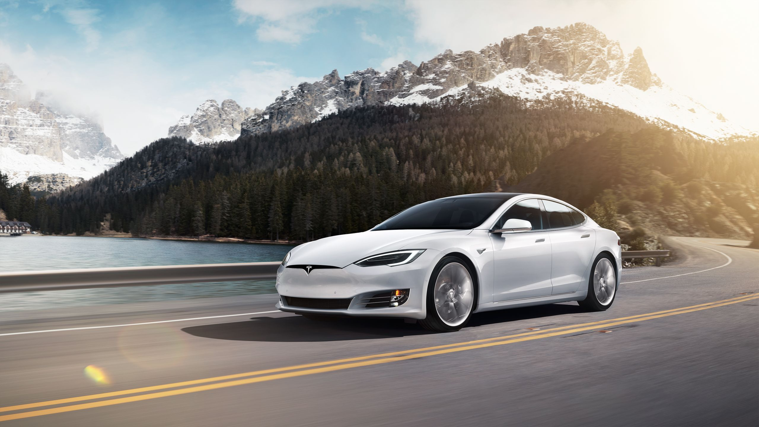 White Tesla Model 3 Wallpapers   Top White Tesla Model 3 2560x1440