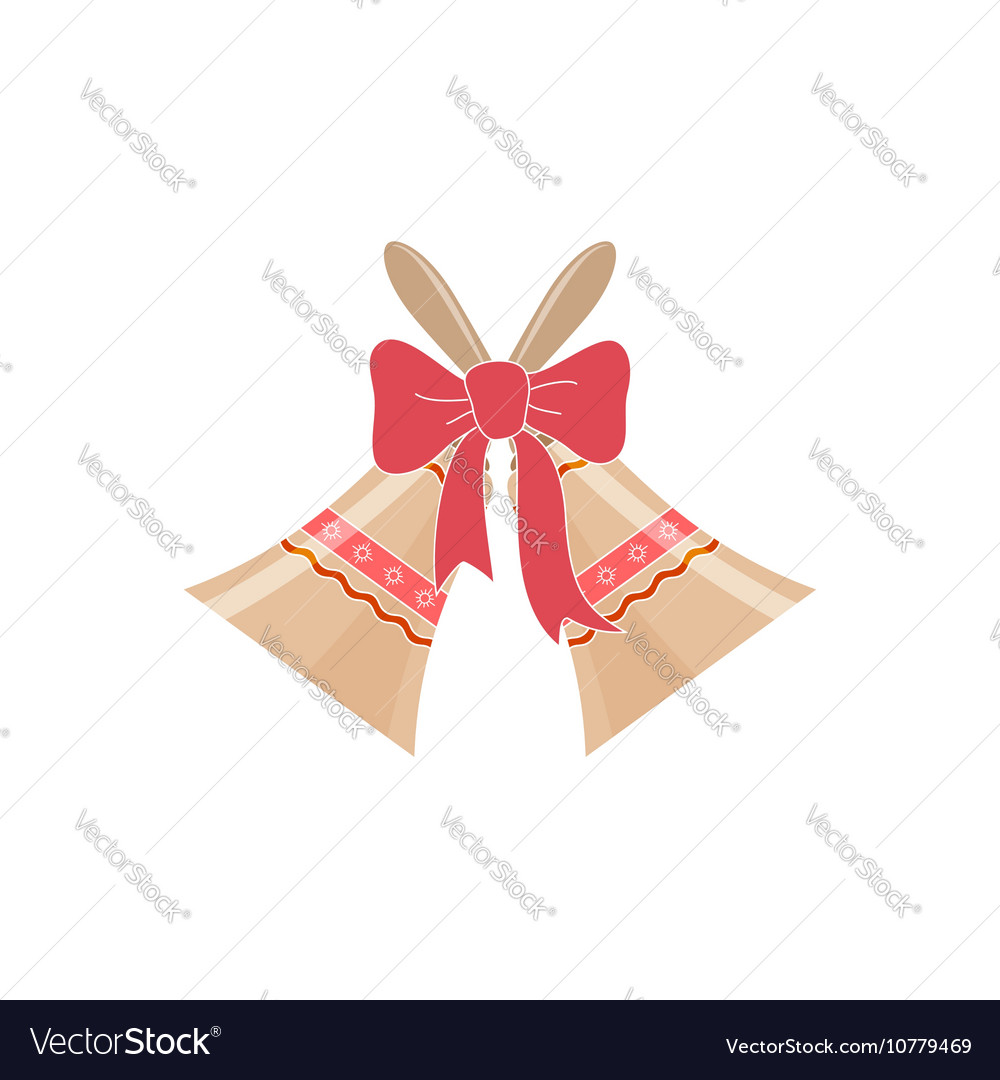 Jingle Bells Isolated on White Background Vector Image 1000x1080