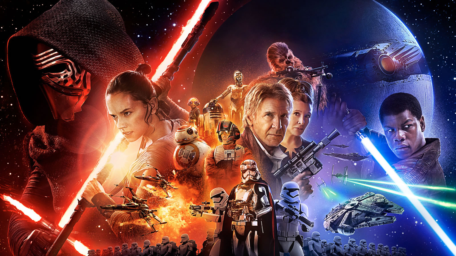 Star Wars Force awakens wallpaper 7 1600x898