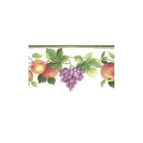 Fruit Vines Die Cut Wallpaper Border in Kitchen Concepts 2 500x500