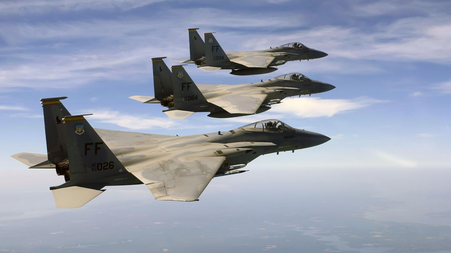 McDonnell Douglas F 15 Eagle HD Wallpaper Background Image 1920x1080