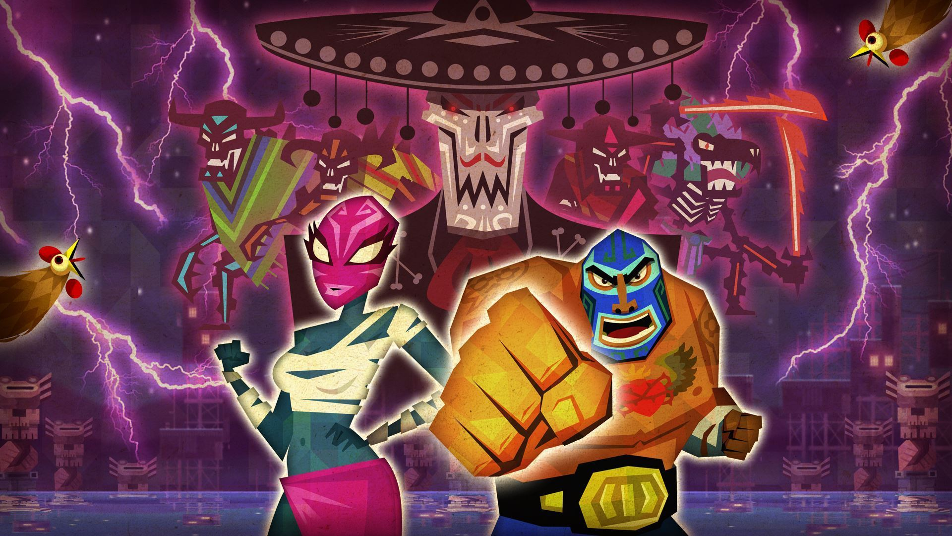Guacamelee Indie Game HD Wallpaper Background 18593 Wallur 1920x1080