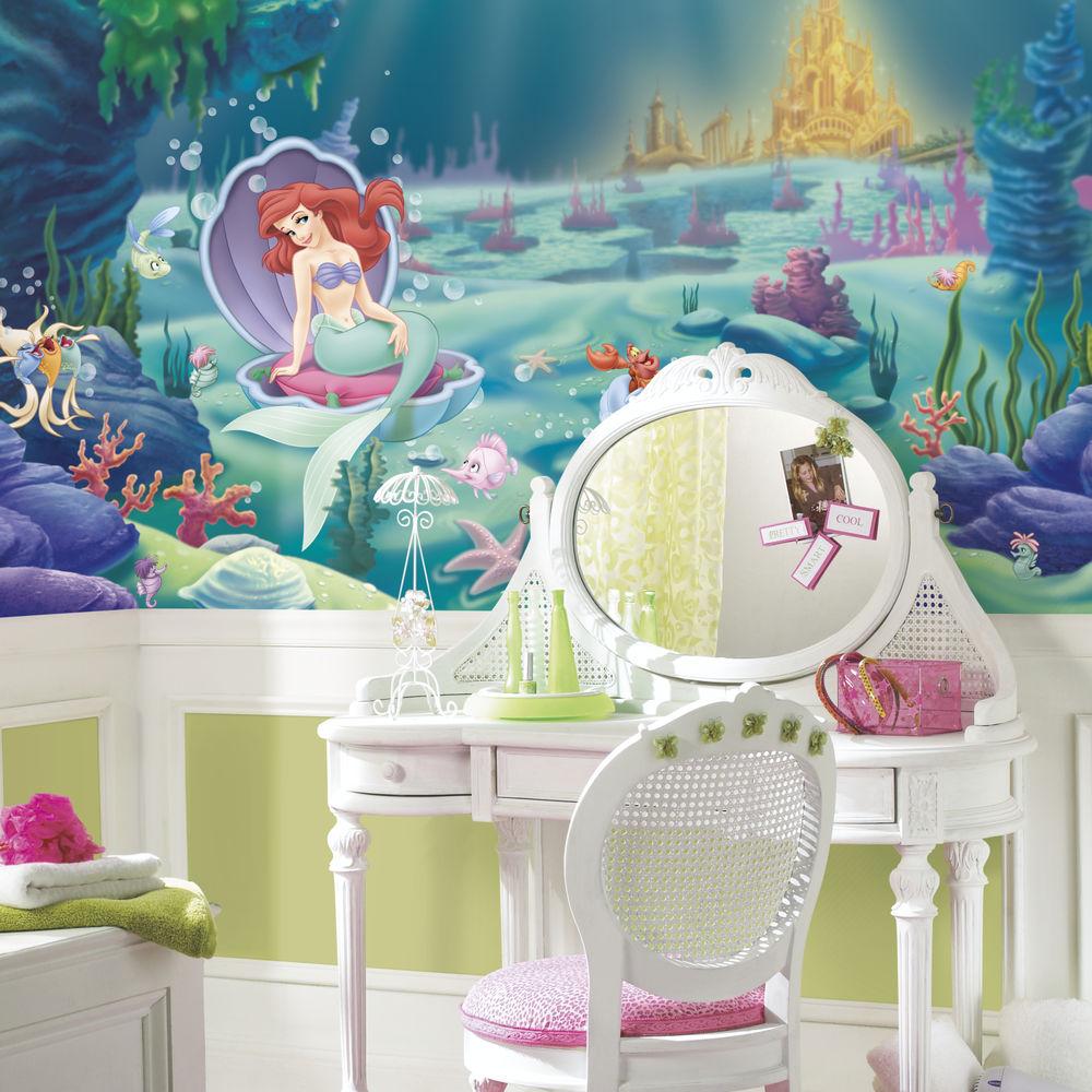 46+] Little Mermaid Wallpaper Mural on WallpaperSafari