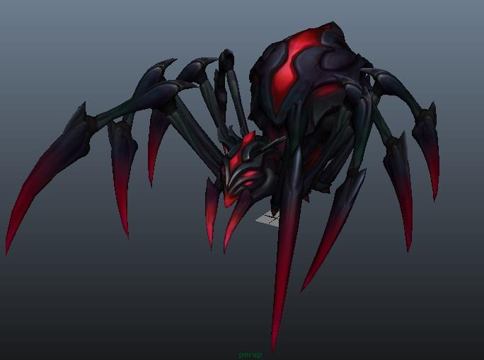 Elise the Spider Queen spider form by destinyarchon 684x509