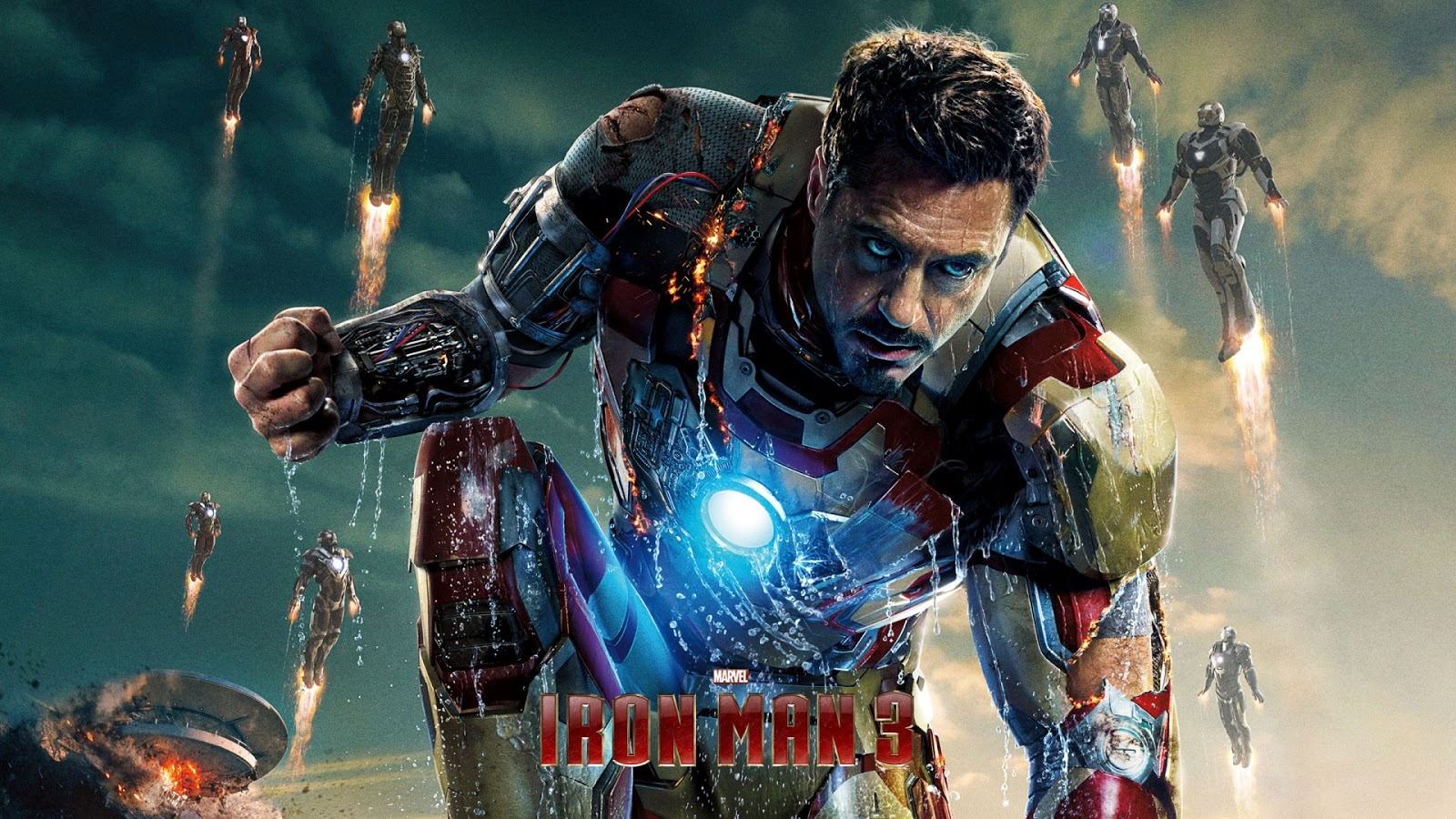 iron man 3 wallpaper hd - wallpapersafari