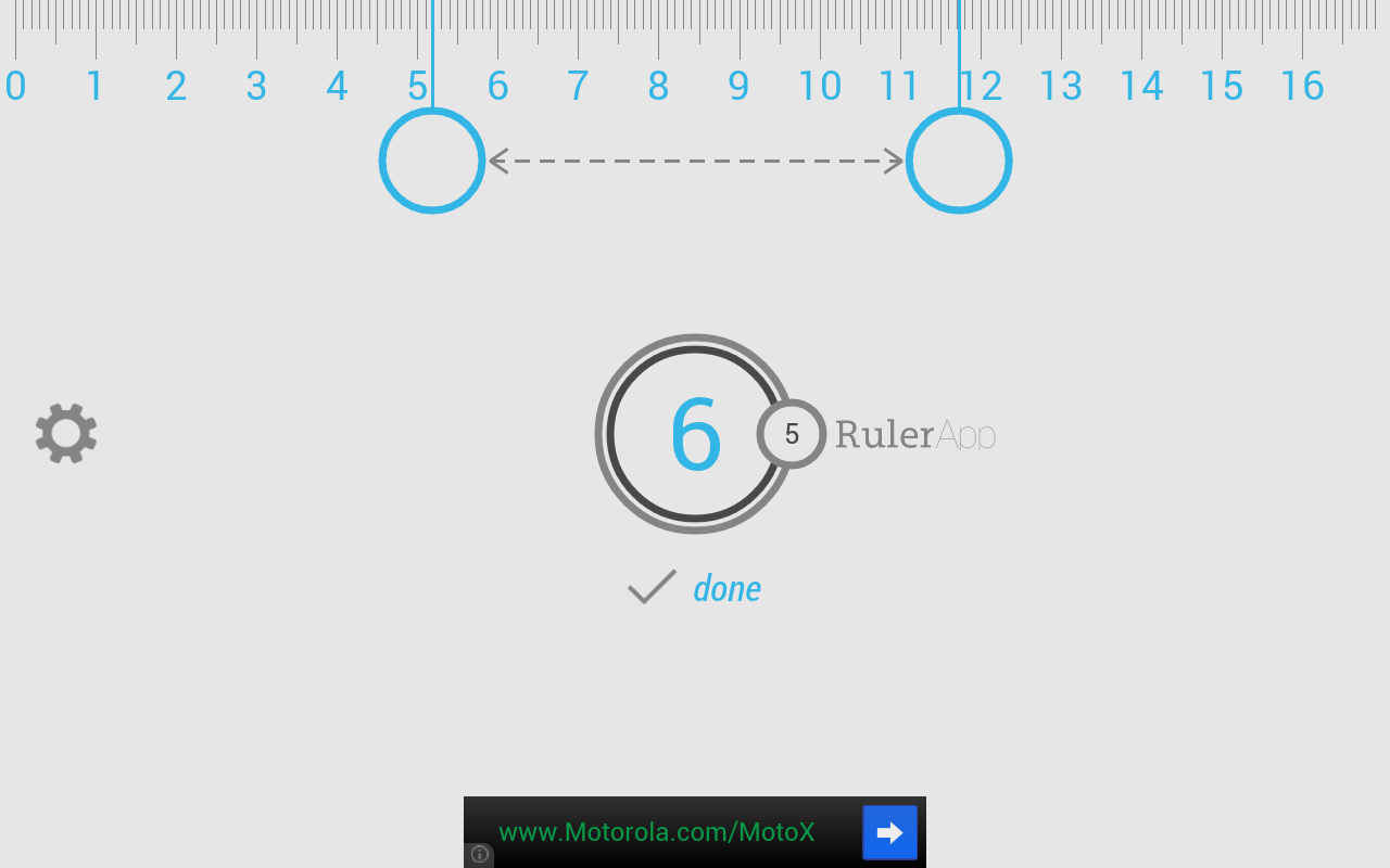 androidtappcomruler appruler app on tablet centimeter measurement 1280x800