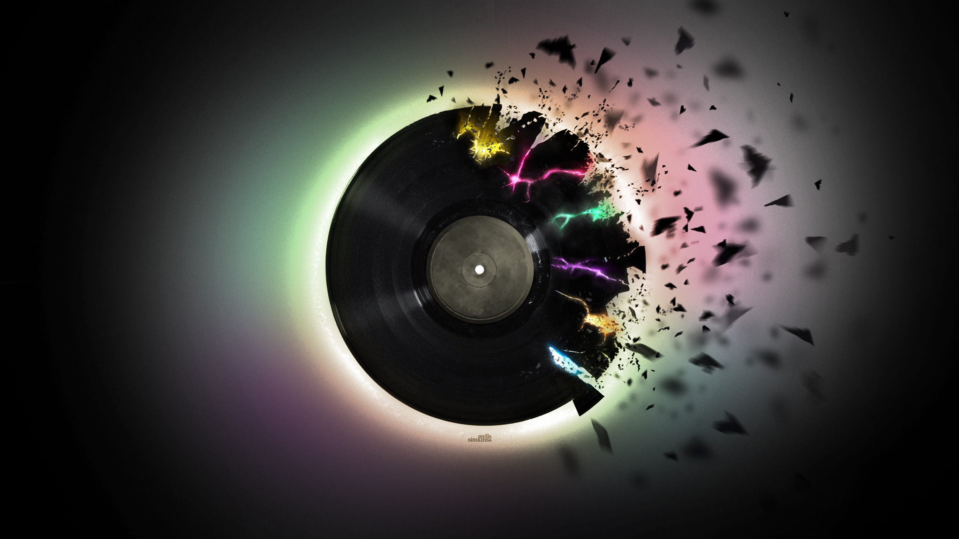 Music Design Record HD Wallpaper Music Design Record Wallpapers for 1920x1080