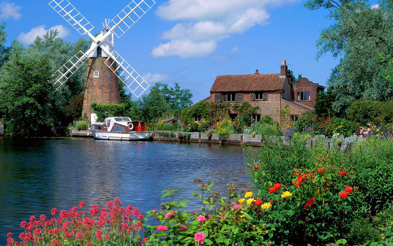 England Scenery Landscape Wallpapers
