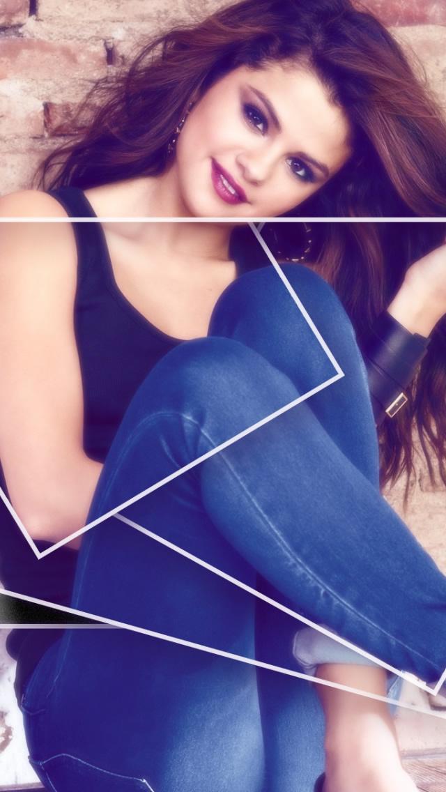 Selena Gomez iOS 7 Wallpaper - WallpaperSafari