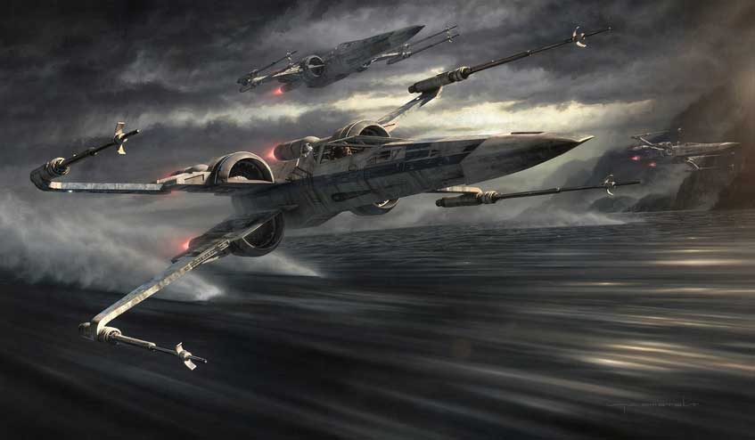The Force Awakens T 70 X wing X Wing Miniatures Game Community 847x494