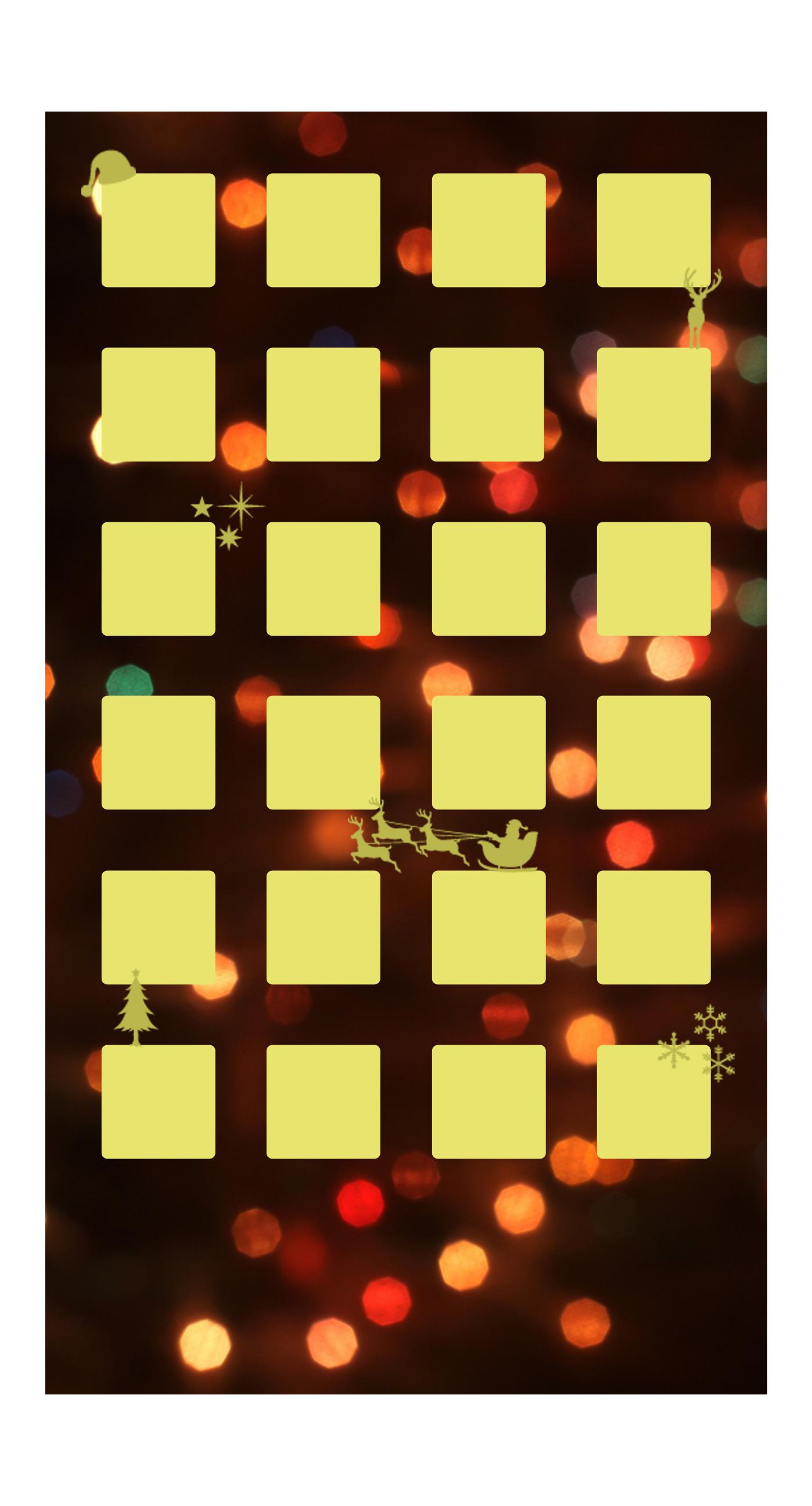 Shelf Christmas yellow light women wallpapersc iPhone7Plus 1398x2592