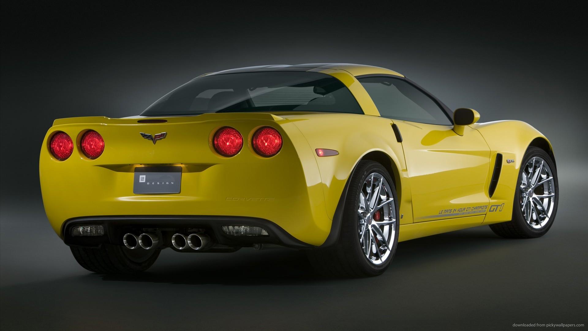 chevrolet yellow corvette wallpapers cars wallpaper 1920x1080 1920x1080