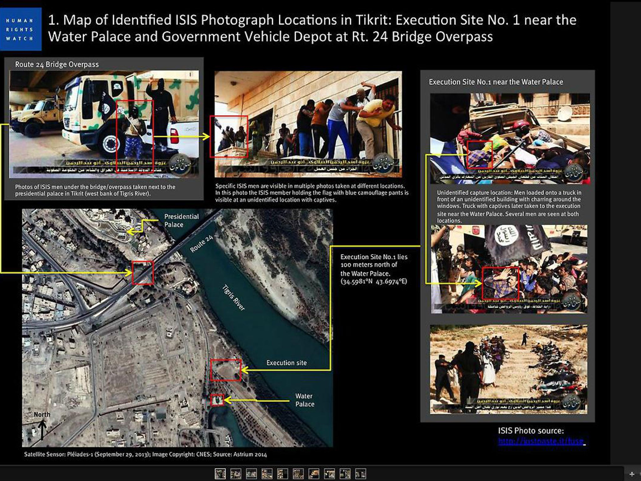 Iraq crisis Mass execution site where Isis massacred at least 160 2048x1536