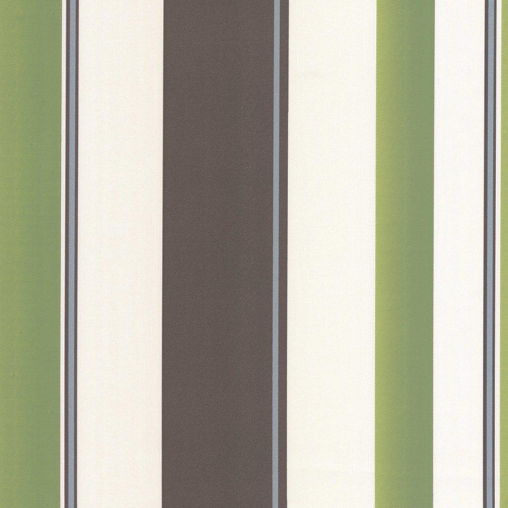 Erismann Poppy Striped Wallpaper Green Brown and Cream 8995 36 1000x1000