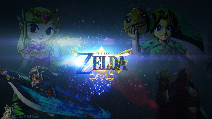 Epic Legend Of Zelda Wallpaper The legend of zelda desktop 900x507