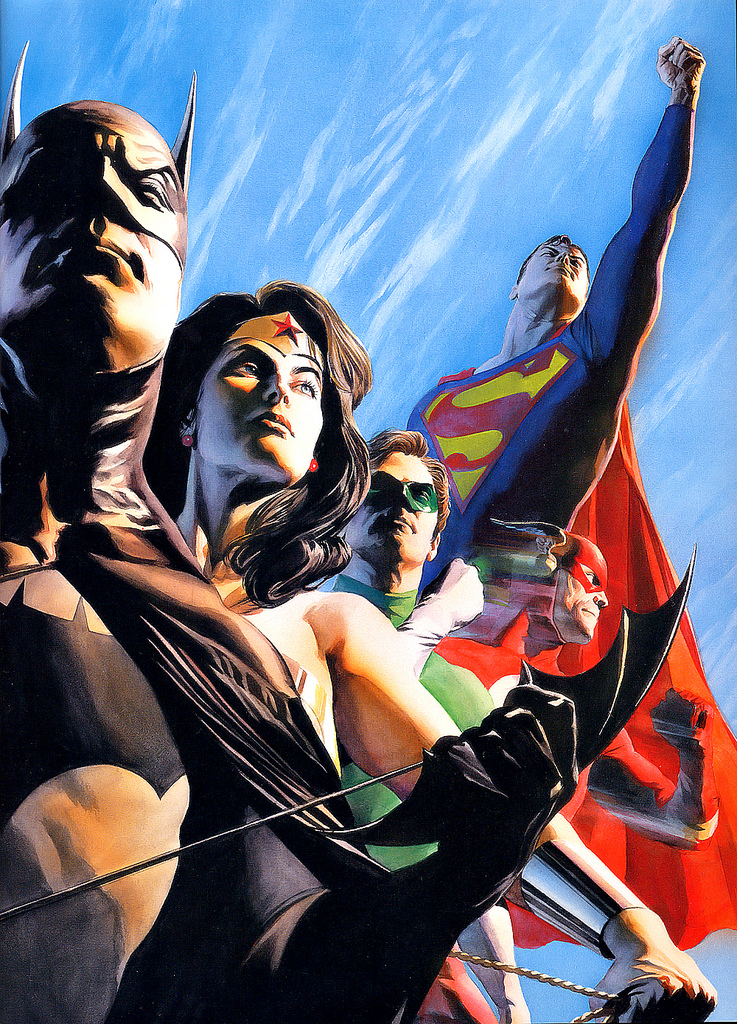 Opinion alex ross justice league seems, will