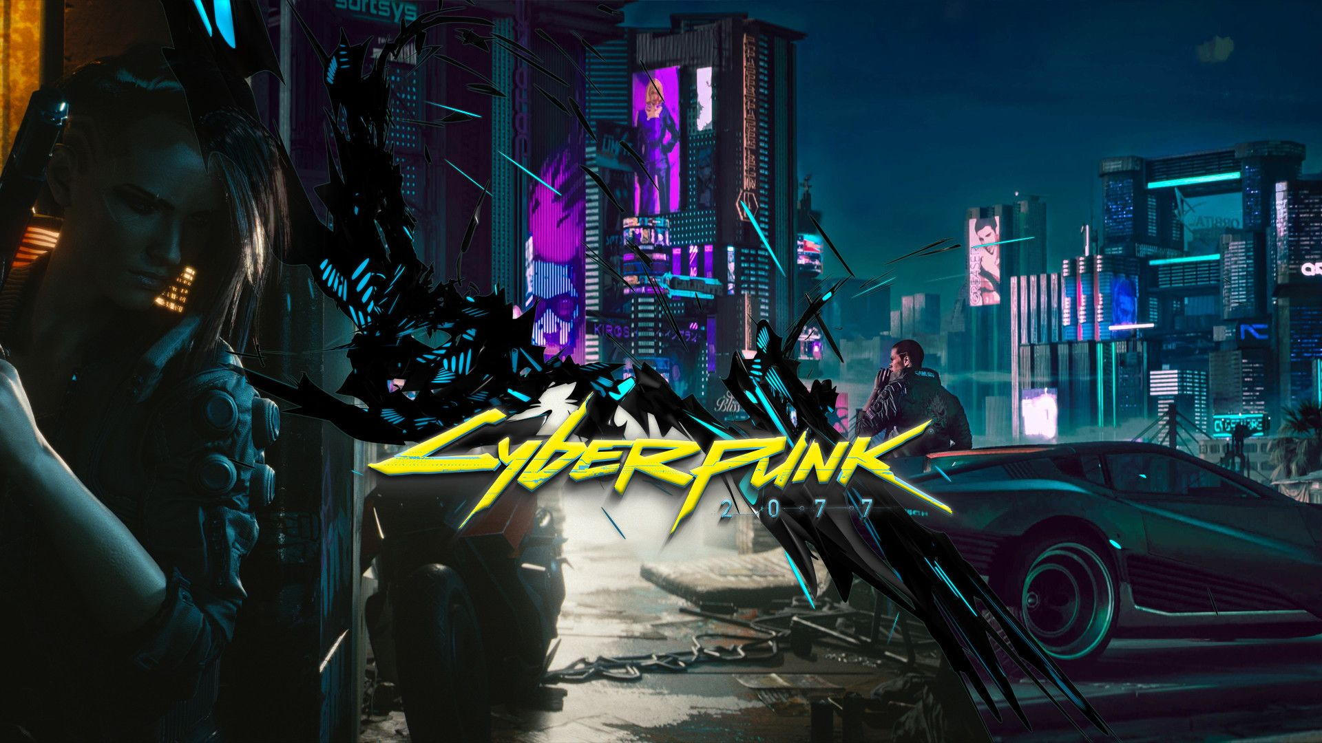 Cyberpunk 2077 Wallpapers   Top Cyberpunk 2077 Backgrounds 1920x1080