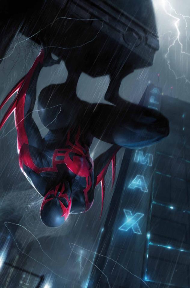 Spider Man 2099 Character   Comic Vine 632x960