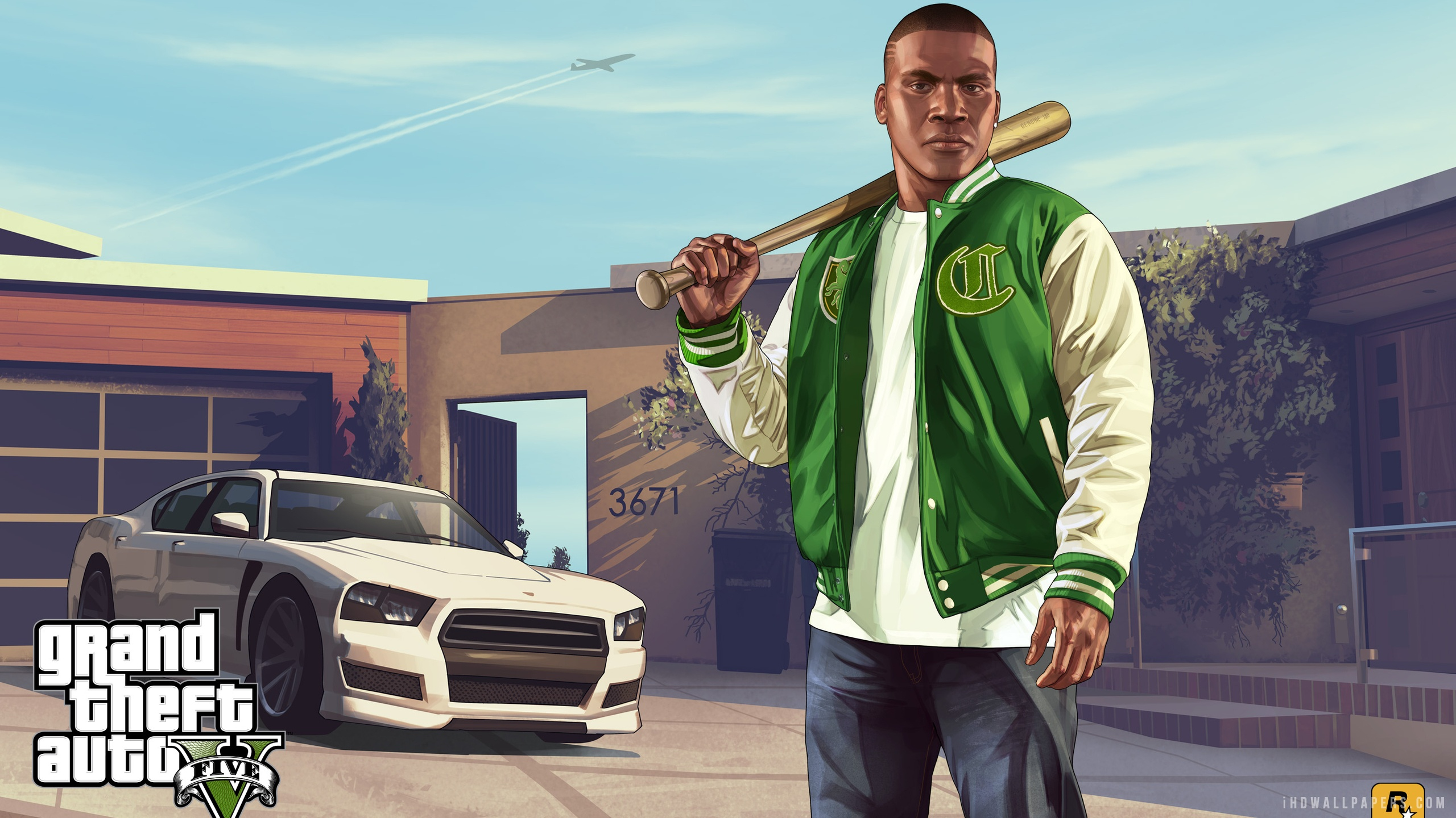 Franklin in Grand Theft Auto V Wallpaper 2560x1440