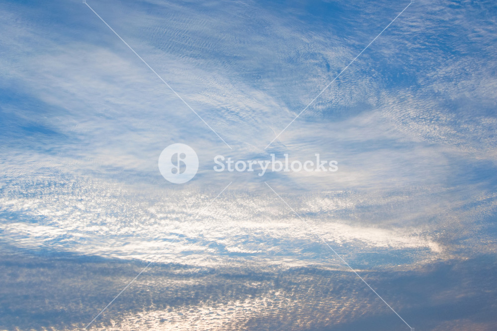 Cloudy sky background with pastel colors romantic dreaming 1000x667