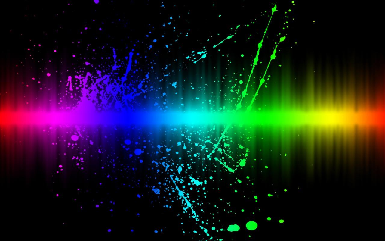 Color Splash Colors Explosion 1280x800 IWallHD Wallpaper HD