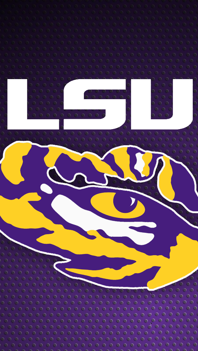 LSU iPhone 5 wallpaper Posted by RollTide MJ 640x1136