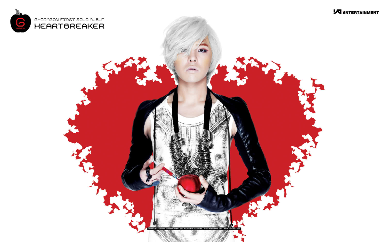 Dragon HEARTBREAKER Wallpapers oficiales de YG YG Family 1600x1000