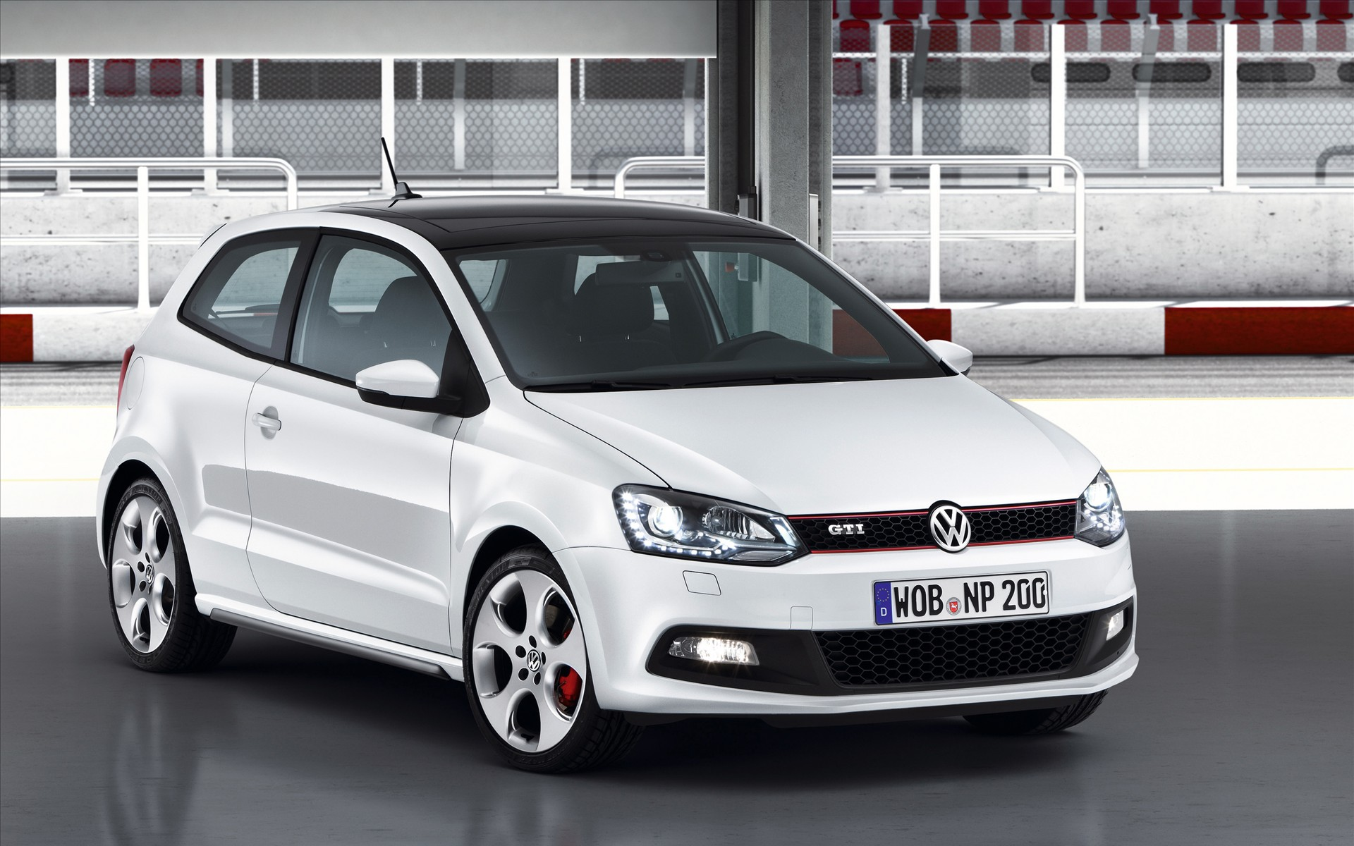 Volkswagen Polo GTI 2011 Wallpapers 1920x1200