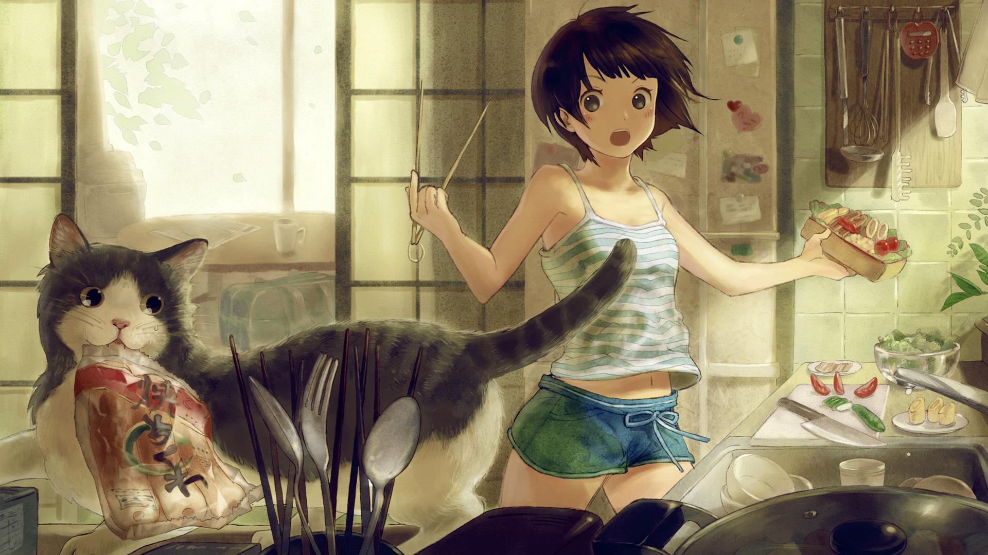 Anime Cute Wallpaper 1920x1080 Anime Cute 1920x1080