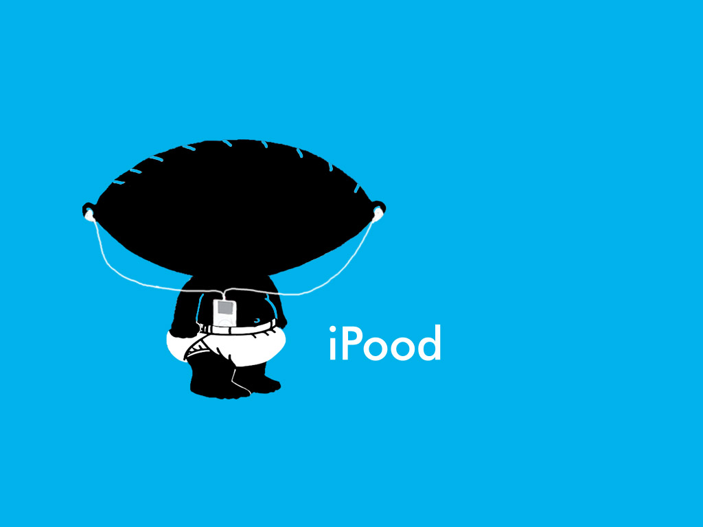 iPod Stewie Wallpaper by pippin1178 1024x768