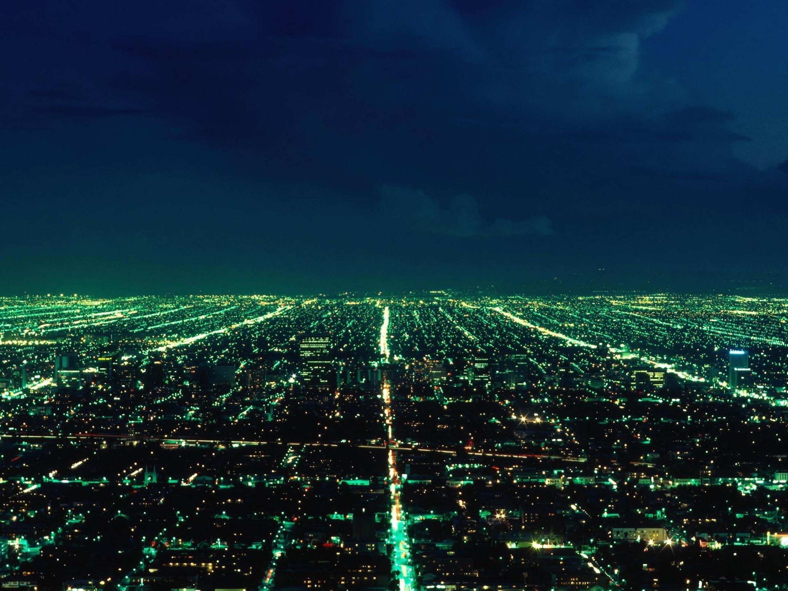 City Skyline at Night wallpapers City Skyline at Night stock photos 2560x1920
