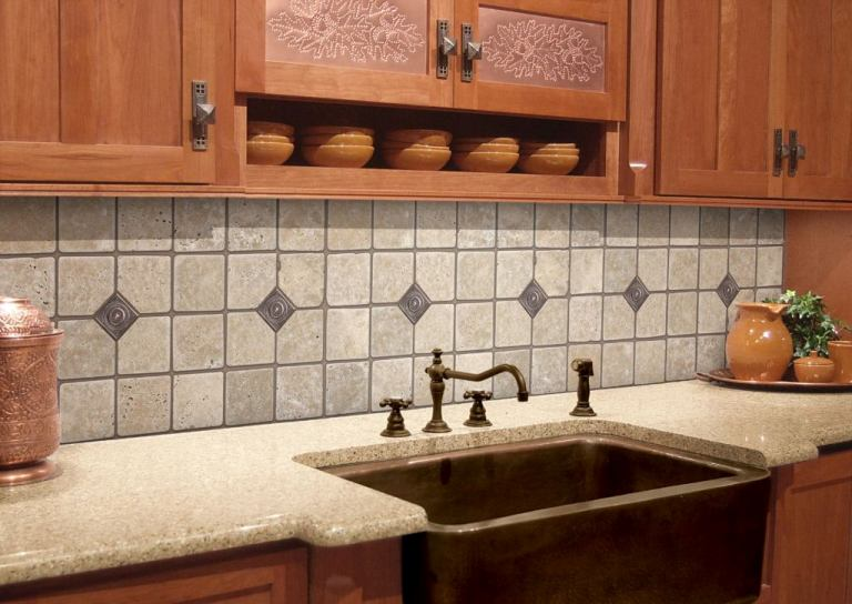 Kitchen Backsplash Wallpaper