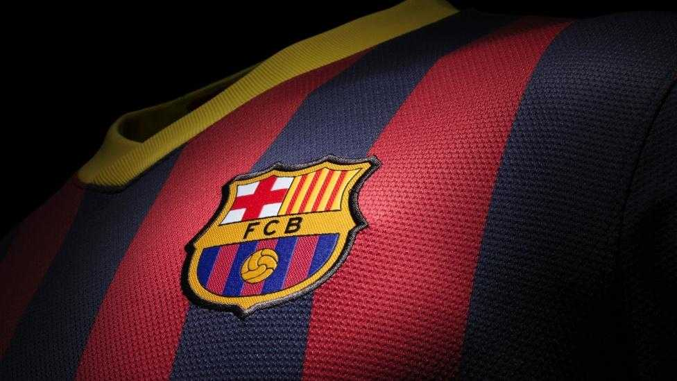 Free Download Barcelona Logo 2015 Wallpapers 976x549 For