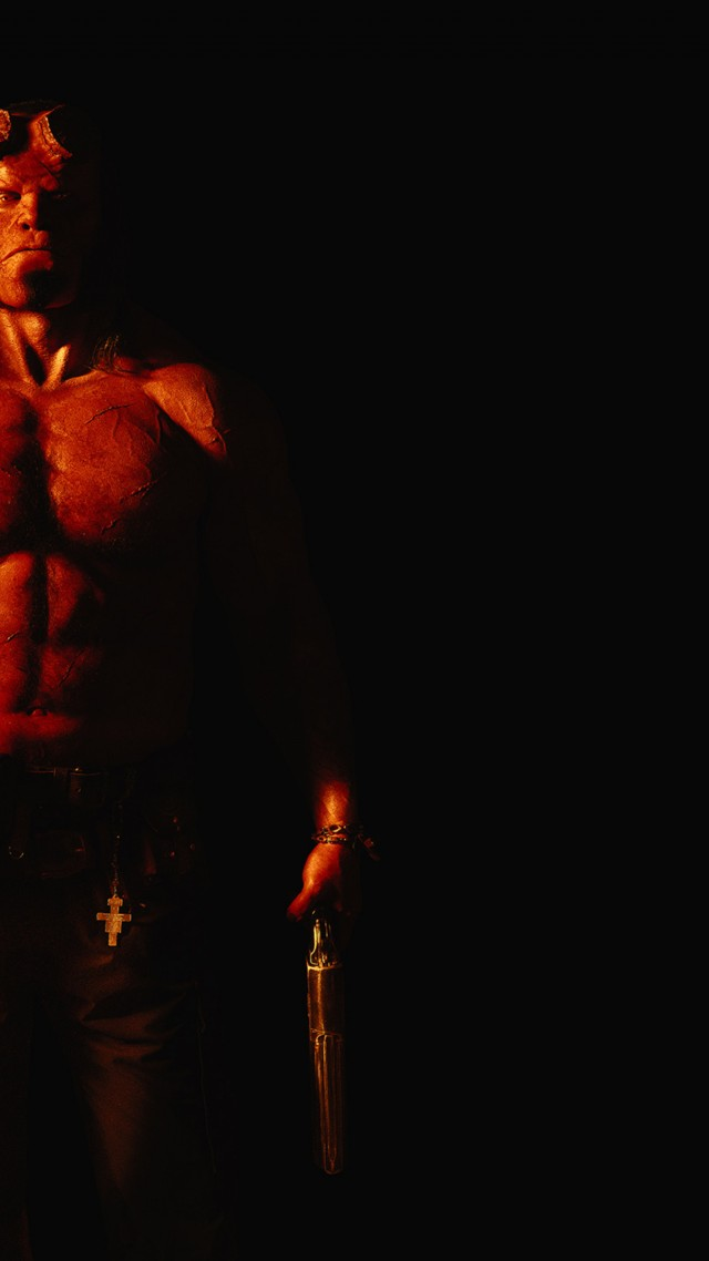 Wallpaper Hellboy David Harbour 4k Movies 16945 640x1138