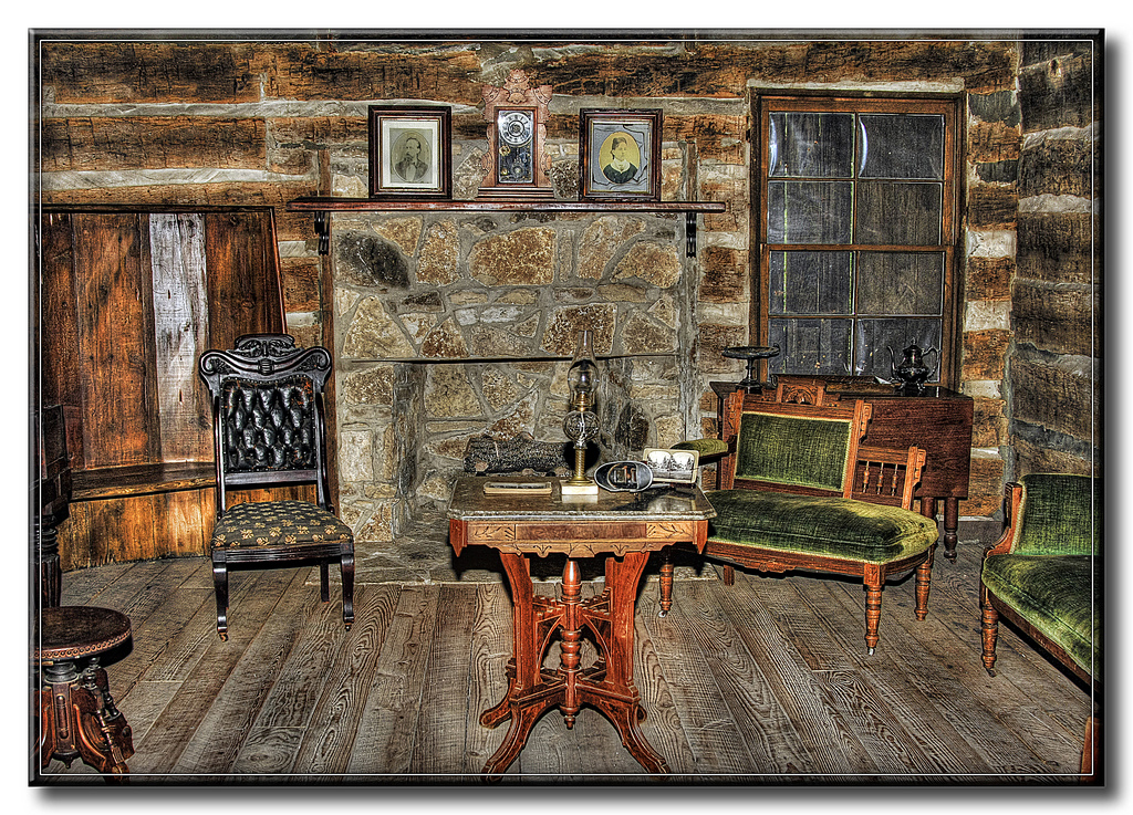 Log Cabin Living Room by FrankFJr All rights reserved 1024x737