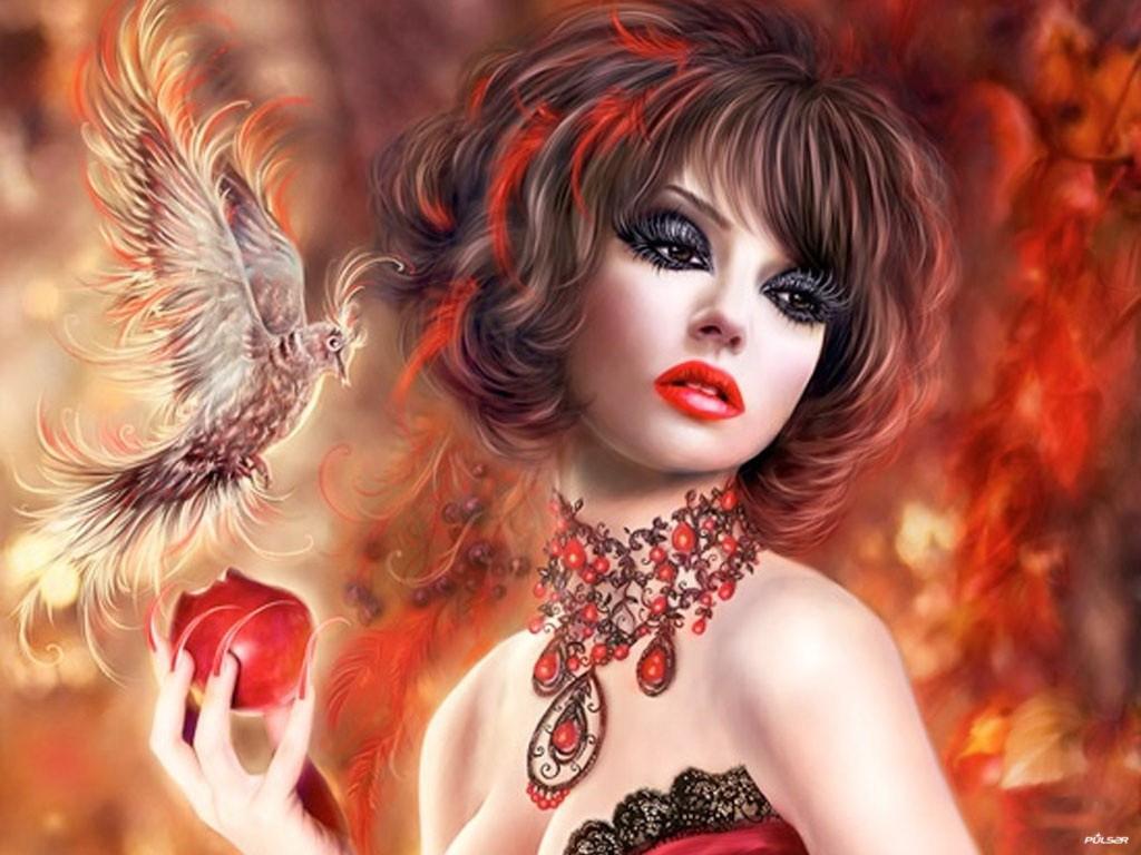 3d desktop wallpaper fantasy girl wallpapersafari - 3d girl wallpaper download ...