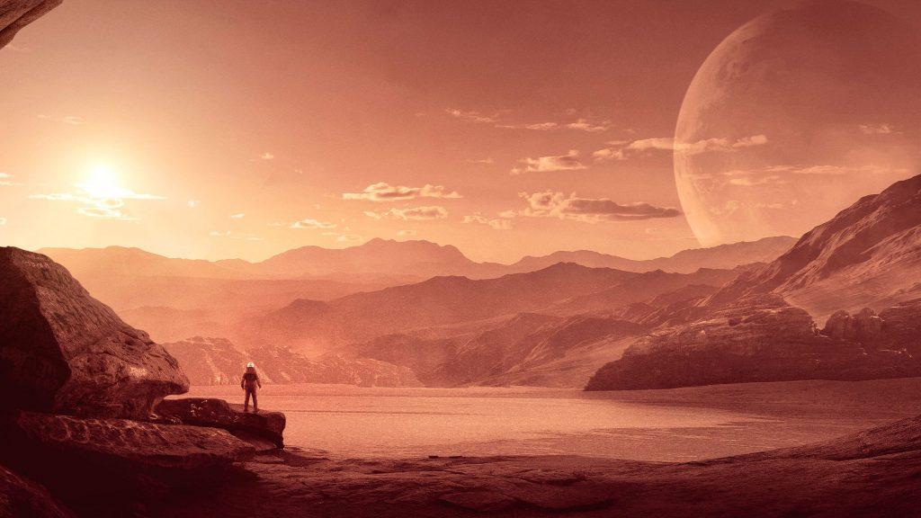 Mars Mission Wallpaper 1024x576
