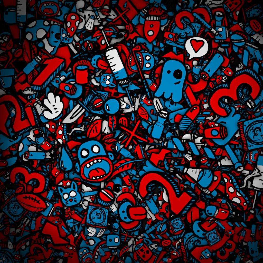 abstract art wallpaper cartoon - photo #1