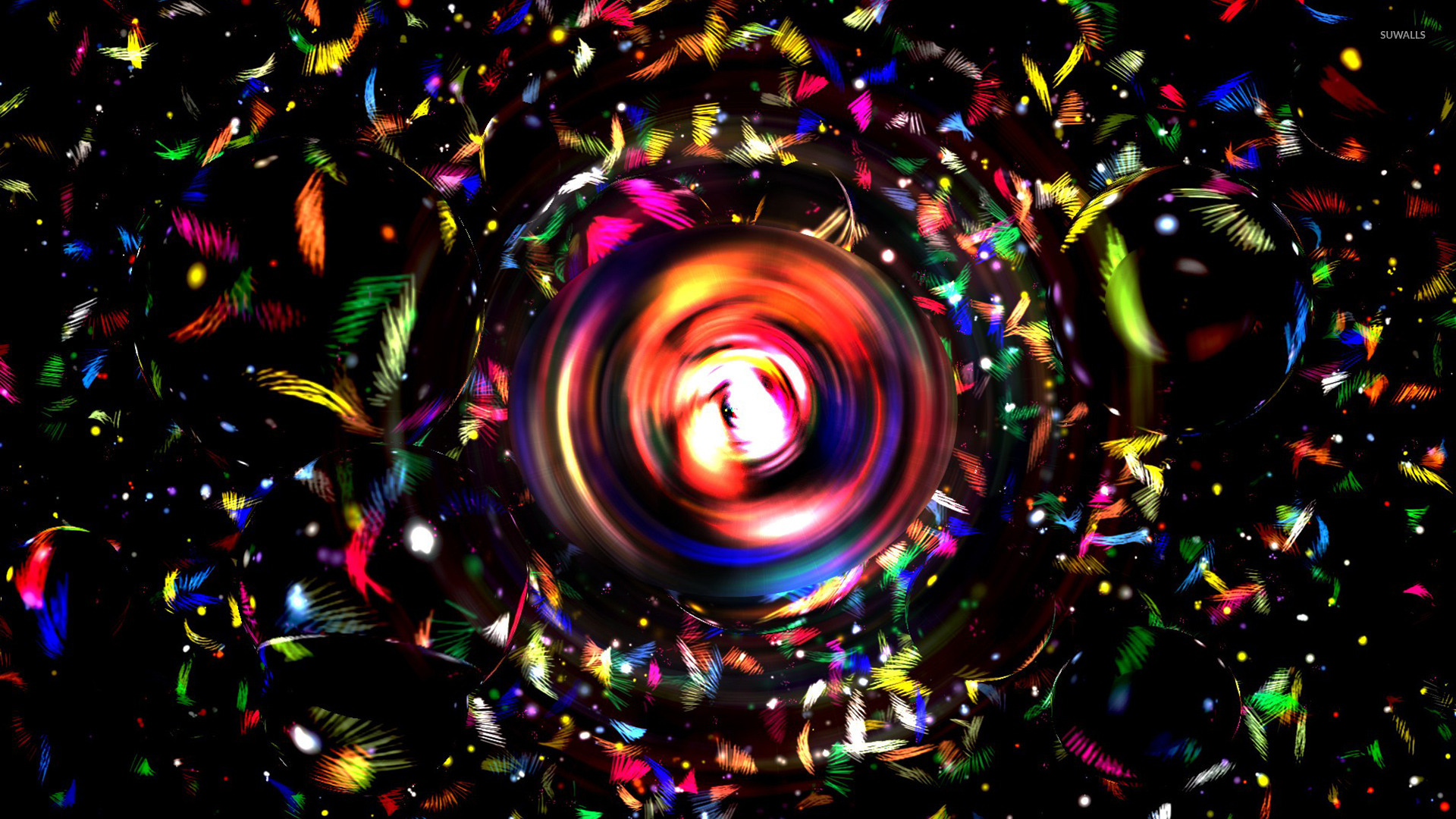 Colorful orb wallpaper   Abstract wallpapers   20902 1280x800