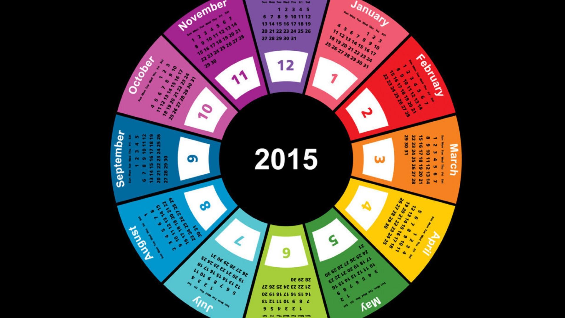 2015 Year Calendar Wallpaper Download 2015 Calendar by Month 1920x1080